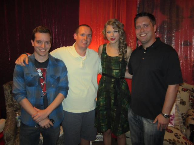 2011 broments or return of the jedi blakeells in september my friend greg managed to get us meet and greet passes and pit seats for taylor swifts tour stop in nashville she smelled like lavendar m4hsunfo Choice Image